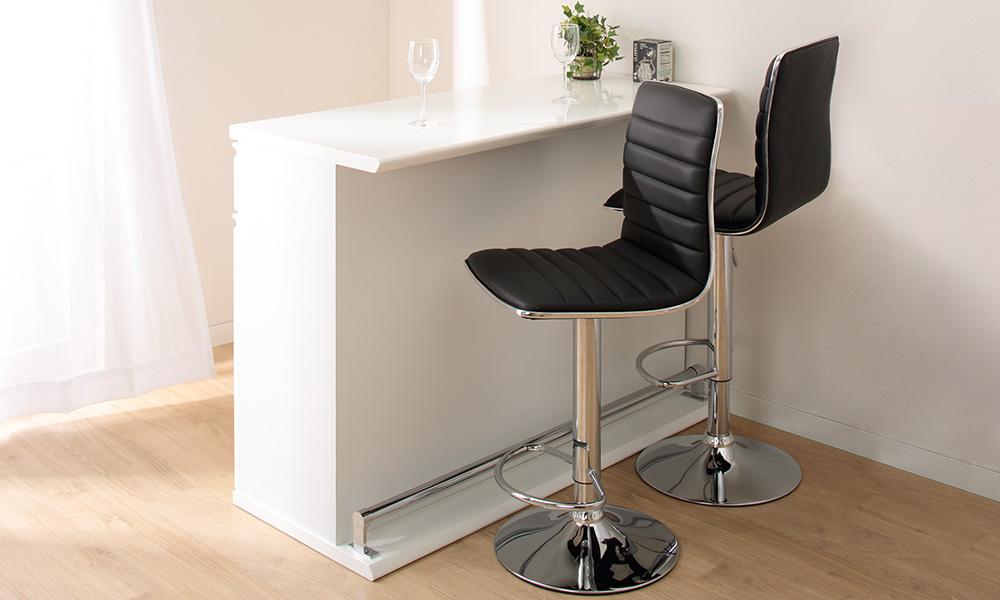 ニトリのカウンターテーブルを取り入れて、より快適なお食事空間を。のサムネイル画像