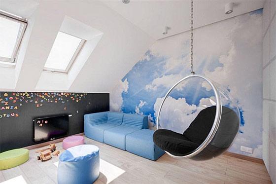 なんだかワクワクしちゃう☆はしごでたどり着く【屋根裏】のある部屋のサムネイル画像