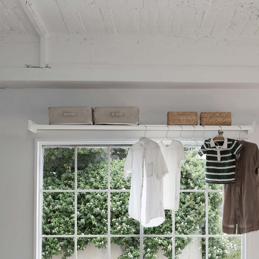 梅雨の季節もおしゃれに!おしゃれな室内物干しで部屋干しを!のサムネイル画像