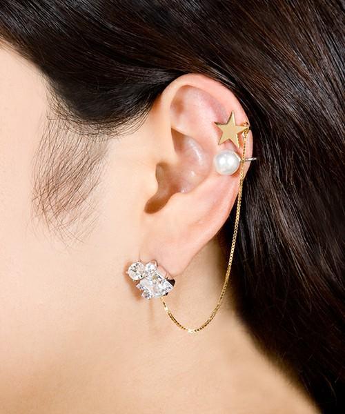 かわいいのに痛くない!華やかに耳を飾るイヤーカフの作り方をご紹介のサムネイル画像