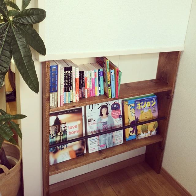 本をかわいく収納&飾りませんか?かわいい本棚をご紹介します。のサムネイル画像