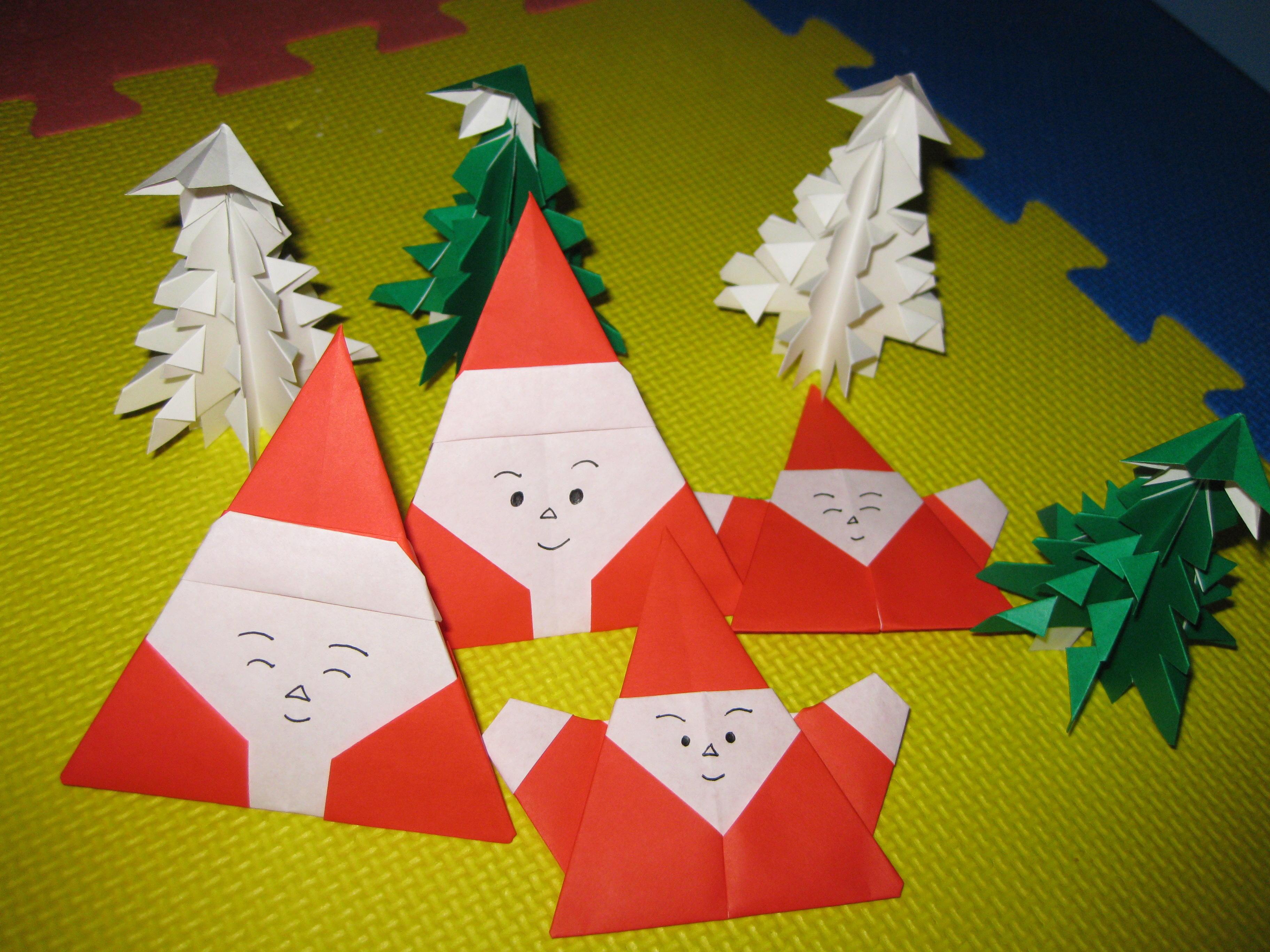 折り紙で楽しいクリスマス飾りを作ろう!クリスマス用折り紙の作り方のサムネイル画像