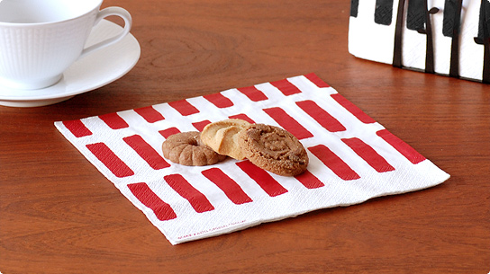 おしゃれなペーパーナプキン♡北欧フィンランドのブランド6選のサムネイル画像