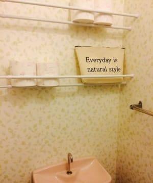 トイレに棚が無くても大丈夫簡単に収納場所が作れる方法を紹介