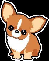 かわいいチワワトイプードル柴犬パグのイラスト素材集